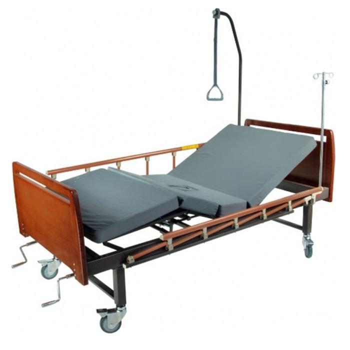 Кровать медицинская функциональная с туалетным устройством E-8