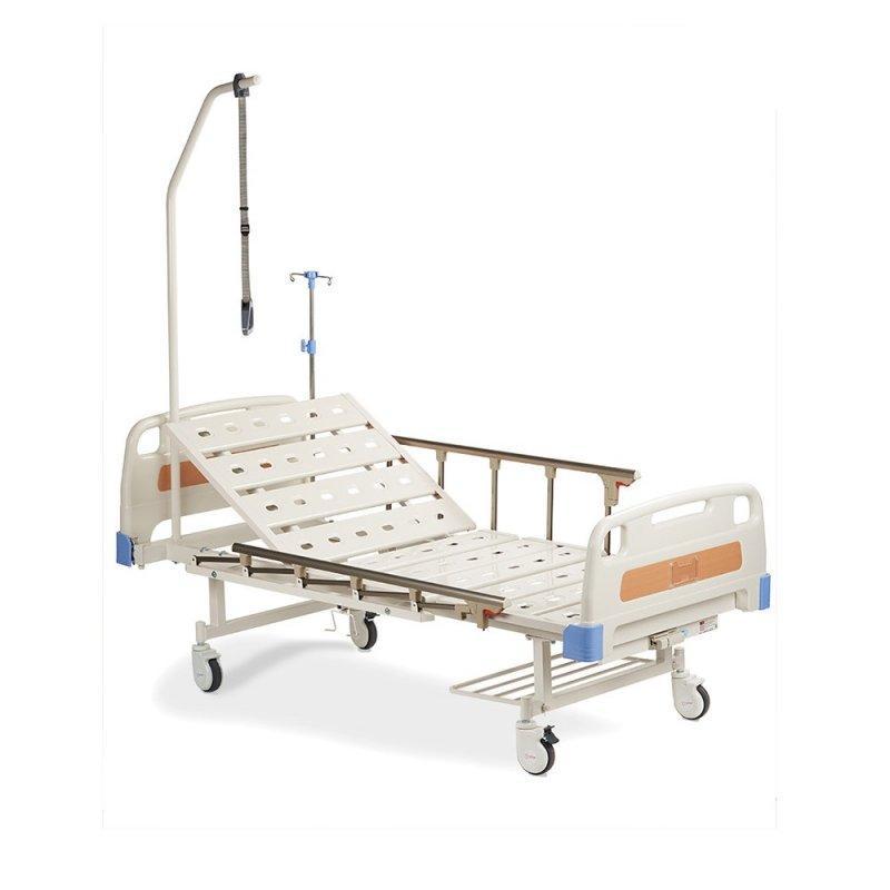 Кровать функциональная механическая FS3023W с принадлежностями