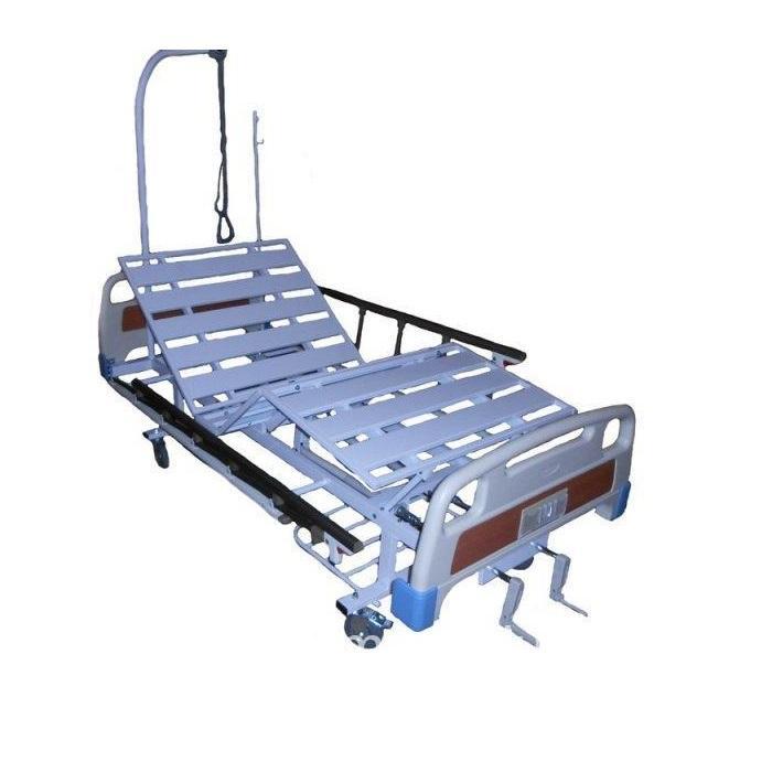 Кровать медицинская механическая КМ-4П