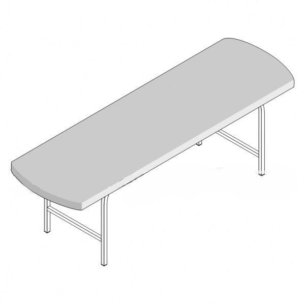 Кушетка смотровая 1-секционная КС-1/1 (1950х800х550)