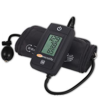 Тонометр полуавтоматический с технологией определения аритмии и памятью на 14 измерений Microlife BP A50 black