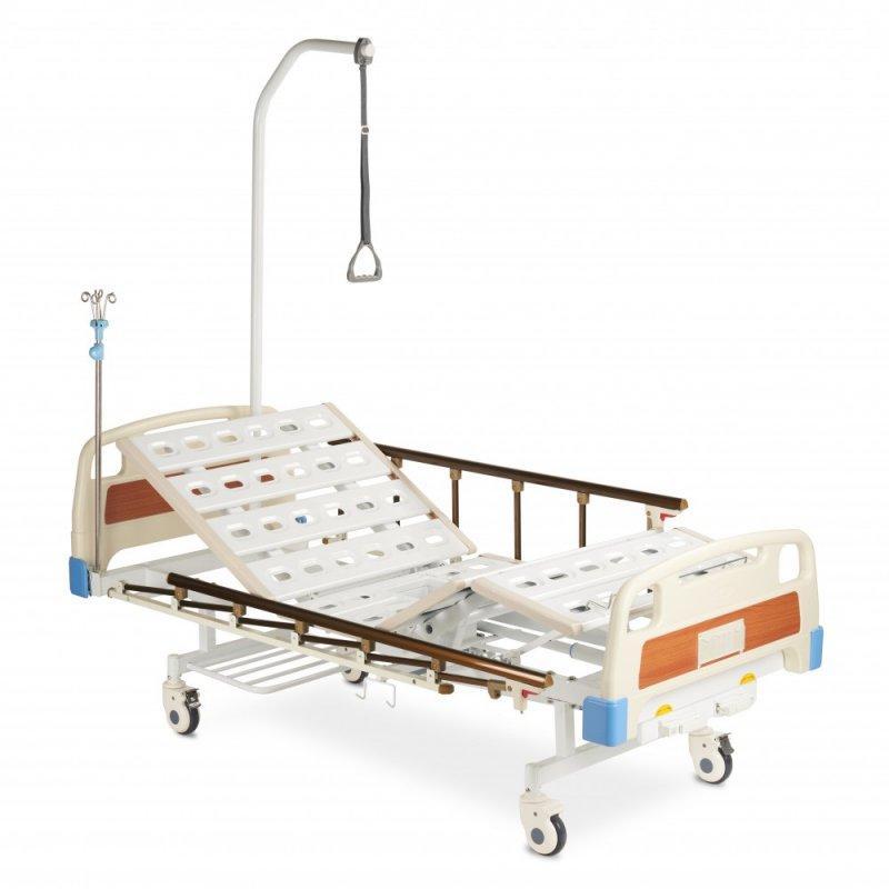 Кровать функциональная с принадлежностями RS104-Е (с санитарным приспособлением)