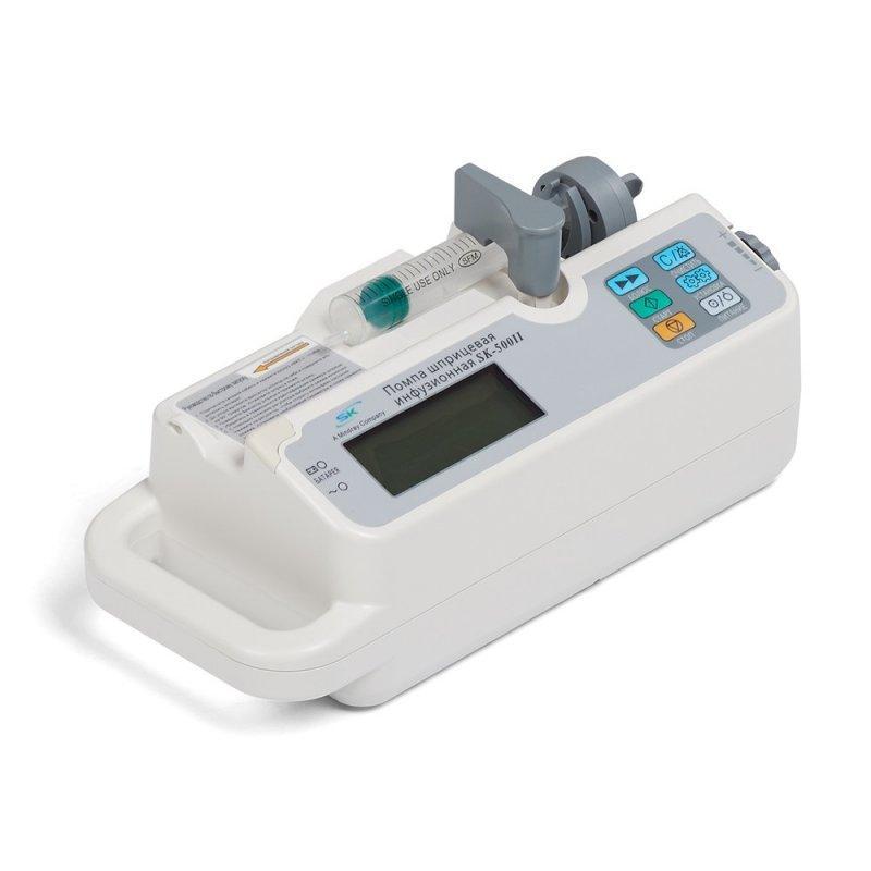 Помпа шприцевая инфузионная SK-500II (дозатор шприцевой) (от 5мл)
