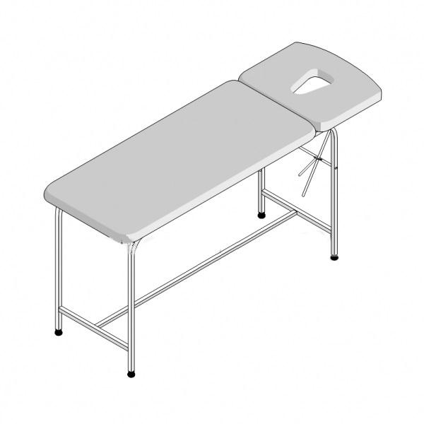 Стол массажный 2-секционный СМ-2 (1950х600х750)