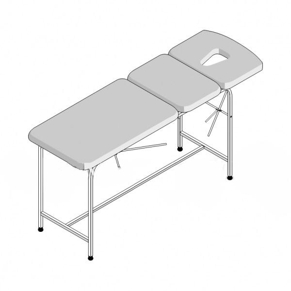 Стол массажный 3-секционный СМ-3/1 (1950х800х750)