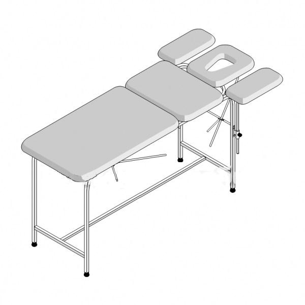 Стол массажный 5-секционный СМ-5/1 (1950х800х750)