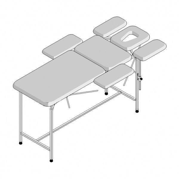 Стол массажный 7-секционный СМ-7 (1950х900х750)