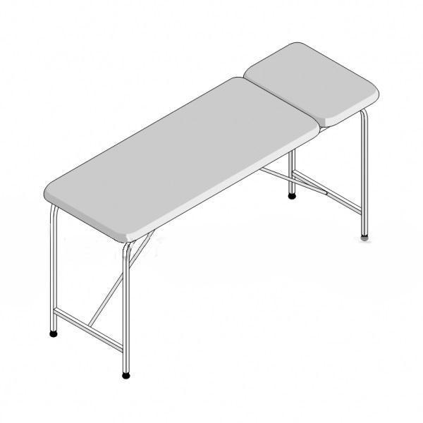 Стол массажный 2-секционный складной СМС-2/1 (1950х800х750)