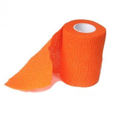 Бинт-лента когезивная оранжевая Ergodynamic 4003 (7,5 см*4,5 м) №16