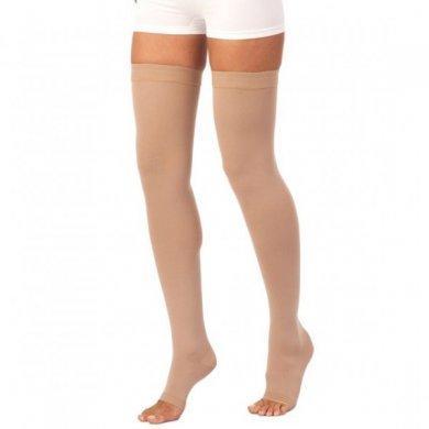 Чулок антиварикозный на одну ногу, 2 кл. (24-30 мм рт.ст.) открытый мысок, Scudotex 441R