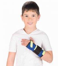 Бандаж на лучезапястный сустав с металлической шиной, (детский) Т-8331