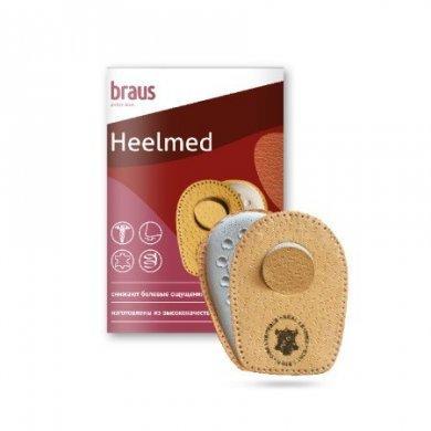 Подпяточник Braus Heelmed (овечья кожа + латекс)