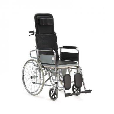 Кресло-коляска с санитарным оснащением активного типа Армед FS609GC