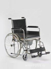 Кресло-коляска с санитарным оснащением активного типа Армед FS682