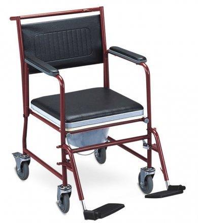Кресло-коляска с санитарным оснащение инвалидная FS692