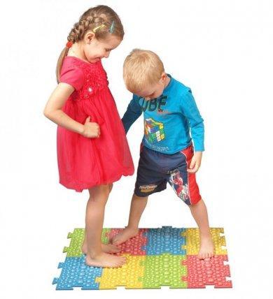 Ортопедический массажный коврик для детей F 0810