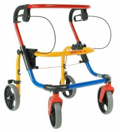 Ходунки складные подростковые 4-опорные на 4-х колесах Фокс