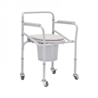 Кресло-туалет (стул-туалет) на колесах H021B