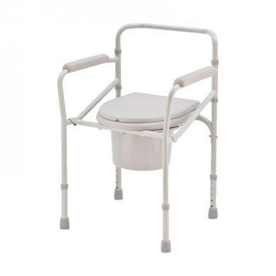 Кресло-туалет (стул-туалет) на колесах H023B