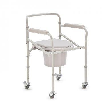 Кресло-туалет H023B Armed (колеса + ножки)