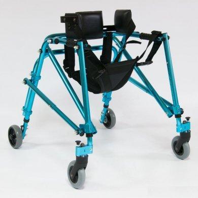 Ходунки на 4-х колесах для детей больных ДЦП, HMP-KA 3200