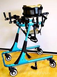 Ходунки на 4-х колесах для развития навыков ходьбы. HMP-KA 4200 взрослые (L)