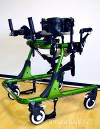 Ходунки на 4-х колесах для развития навыков ходьбы. HMP-KA 4200 подростковые (M)