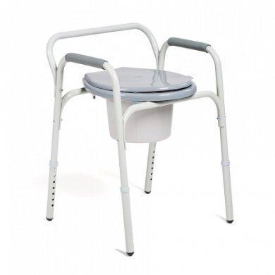 Кресло инвалидное с санитарным оснащением Н020В (Россия)