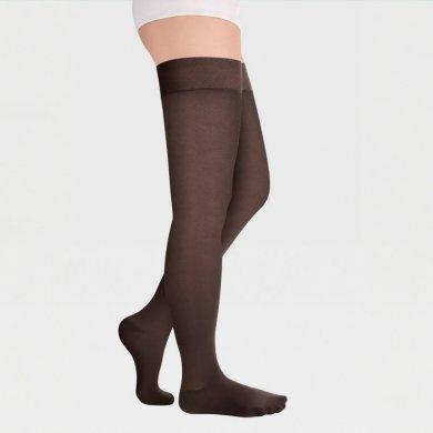 Чулки с закрытым носком на широкое бедро IDEALISTA ID-300TW