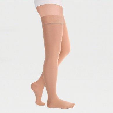 Чулки с резинкой на силиконовой основе с закрытым носком 1кл.(18-21 мм рт.ст.) IDEALISTA ID-300
