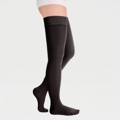 Чулки с резинкой на силиконовой основе с закрытым носком 2кл.(23-32 мм рт.ст.) IDEALISTA ID-300