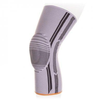 Бандаж на коленный сустав с пателлярным силиконовым кольцом Экотен KS-E01, р.XXL