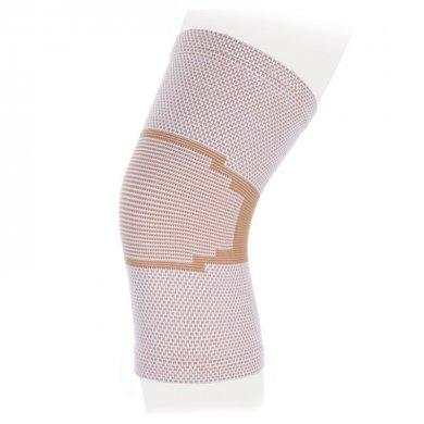 Бандаж на коленный сустав Экотен ККС со спиральными ребрами KS-E02 бежевый