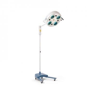 Светильник диагностический хирургический передвижной L734 (4 лампы, 40000лк)
