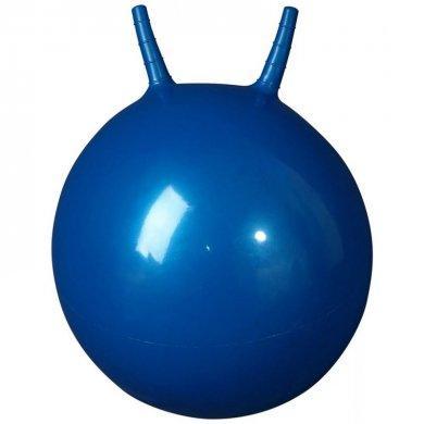 L 2355b Гимнастический мяч 55см (в коробке с насосом)синий