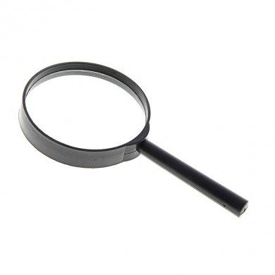 Лупа Классика х5 черная d=75мм, 16 см