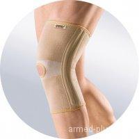 Бандаж эластичный на коленный сустав с ребрами жесткости Orto BKN 871