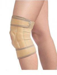 Бандаж на колено разъемный с шарнирами (неопрен) 0807