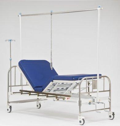Кровать функциональная механическая с принадлежностями RS104-B (с рамой Балканского)
