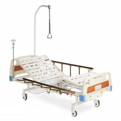 Кровать функциональная механическая с принадлежностями RS104-Е (с санитарным приспособлением)