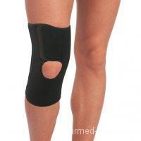 Бандаж на коленный сустав со спиральными ребрами жесткости неопреновый Т-8504