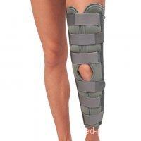 Бандаж для полной фиксации коленного сустава (тутор) Т-8506 60см
