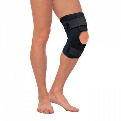 Бандаж на коленный сустав разъемный с шарнирами Т-8508