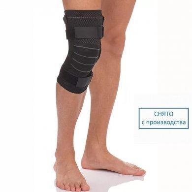 Бандаж на коленный сустав c полицентрическими шарнирами Т-8515