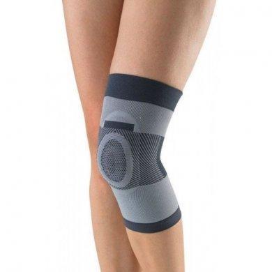 Бандаж компрессионный на коленный сустав с силиконовым кольцом Т-8520