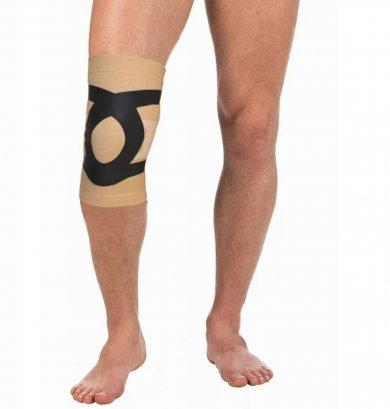 Бандаж компрессионный на коленный сустав с усиливающими лентами Т-8521