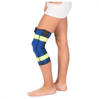 Бандаж детский компрессионный на коленный сустав с пружинами Т-8530