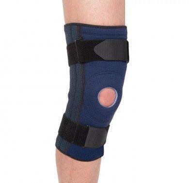 Бандаж на коленный сустав неразъемный с пружинными ребрами Evolution Т-8591