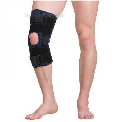 Бандаж на коленный сустав с шарнирами Evolution Т-8593