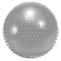 Мяч гимнастический массажный (2 в 1) 65 см